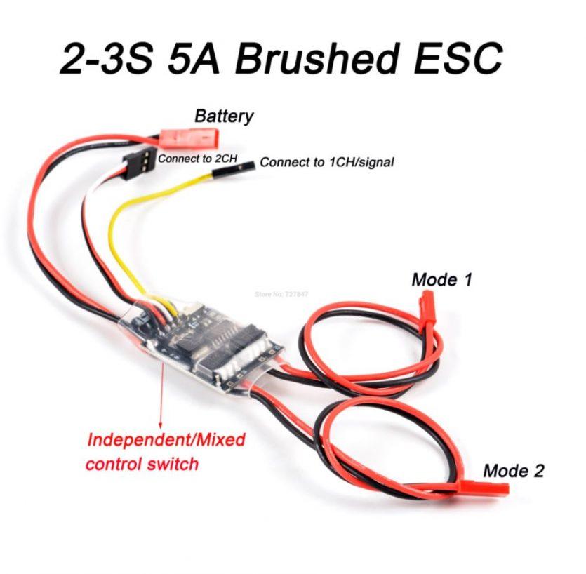 ESC-Motor-Escobillas-de-doble-via-2S-3S-Lipo-5-Amp